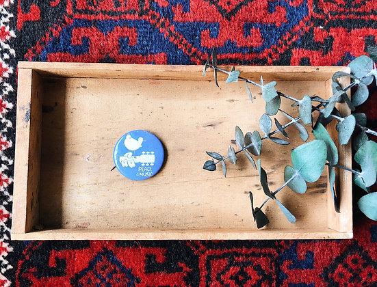 ORIGINAL 1969 Woodstock Pin