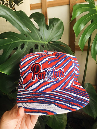 80s Patriots Special Release Striped Hat