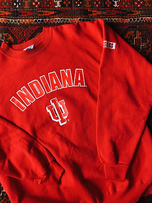 Vibrant Red Indiana Pullover