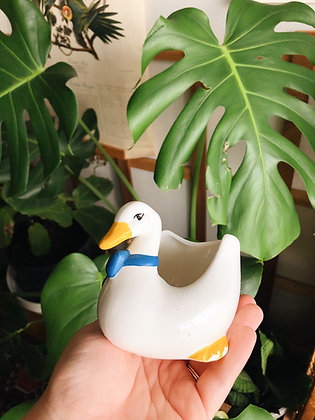 80s Goose Planter