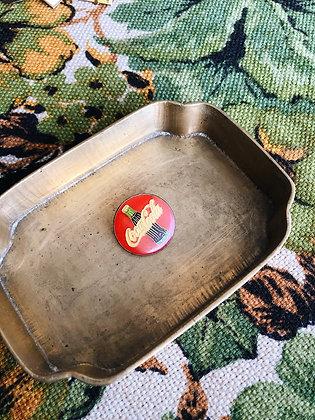 Coca Cola Circle Pin