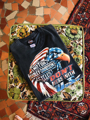Don't Mess With U.S. Harley Davidson Tee