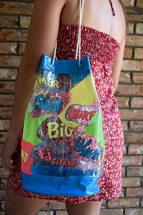 80's Bucket Beach Bag