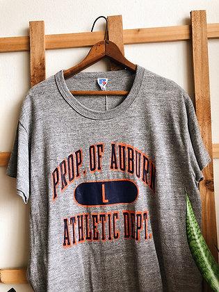 Auburn University Single Stitch Tee