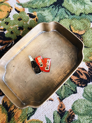 Coca Cola Cans & Bottles Pin