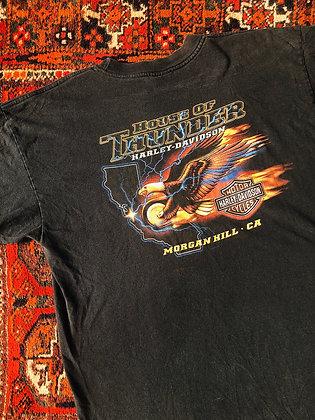 2004 Harley-Davidson House of Thunder Tee