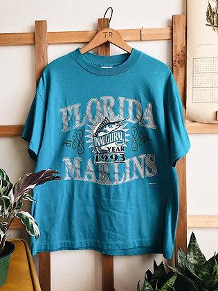 1993 Florida Marlins Single Stitch Tee