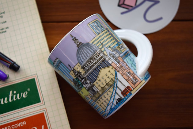 Collectable London Mug Number 7