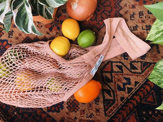 Cotton String Bag (Avocado)