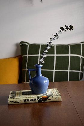 Blue Unique Small Vase