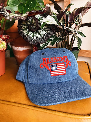 Denim Alabama Hat