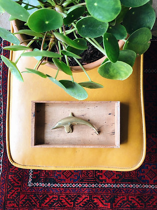 Small Brass Dolphin