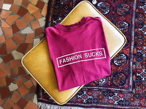 """Fashion Sucks"" Tee"