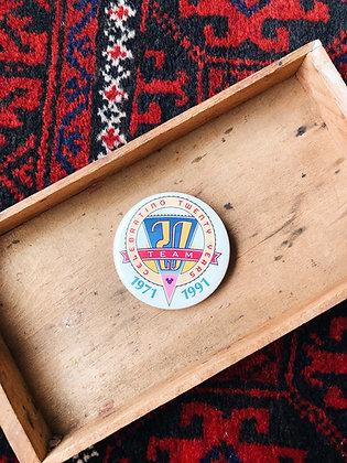 20 Year Celebration Pin