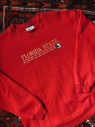 Embroidered FSU Pullover