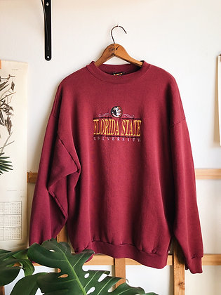 Embroidered FSU Pullover