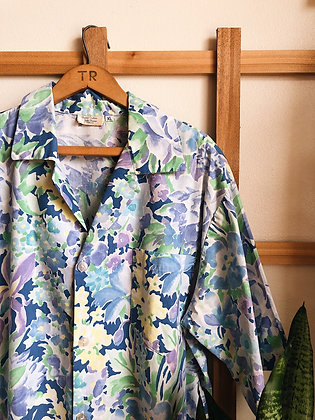 Hawaiian Styled Button Up