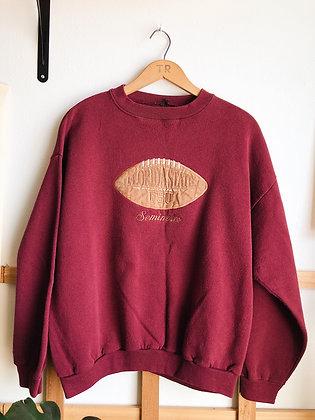 Maroon Embroidered FSU Pullover