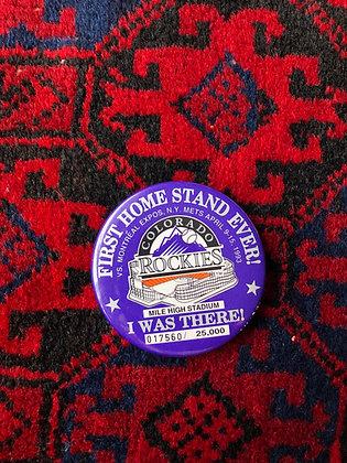 1993 Colorado Rockies Pin