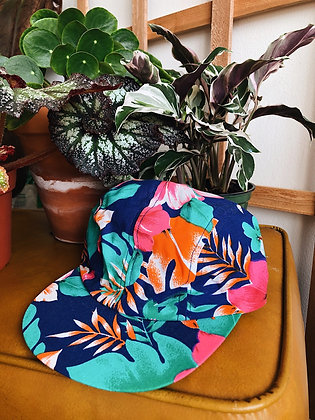 90s Wendy's Floral Hat
