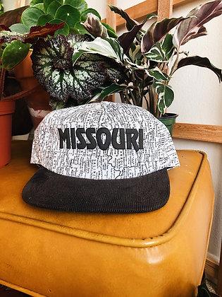 90s Missouri Map Hat