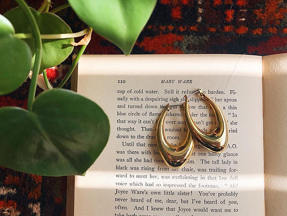 Funky Gold Hoops