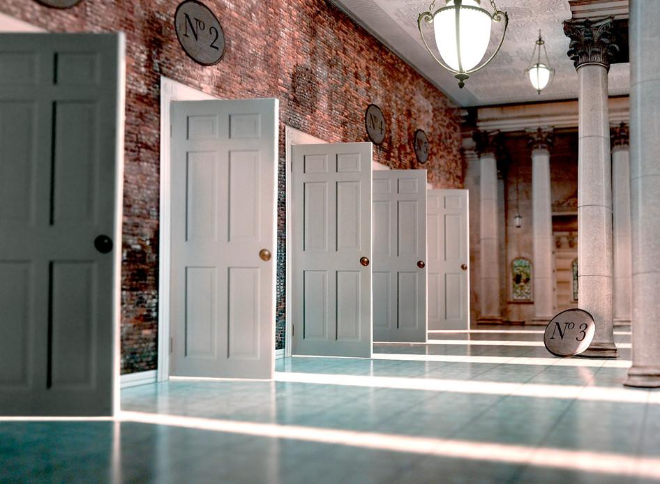 Five Open Doors