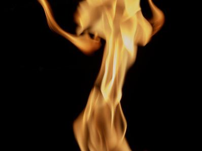 Fire Dancer (just for fun)
