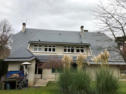 transformation d'un toit de chaume en ar