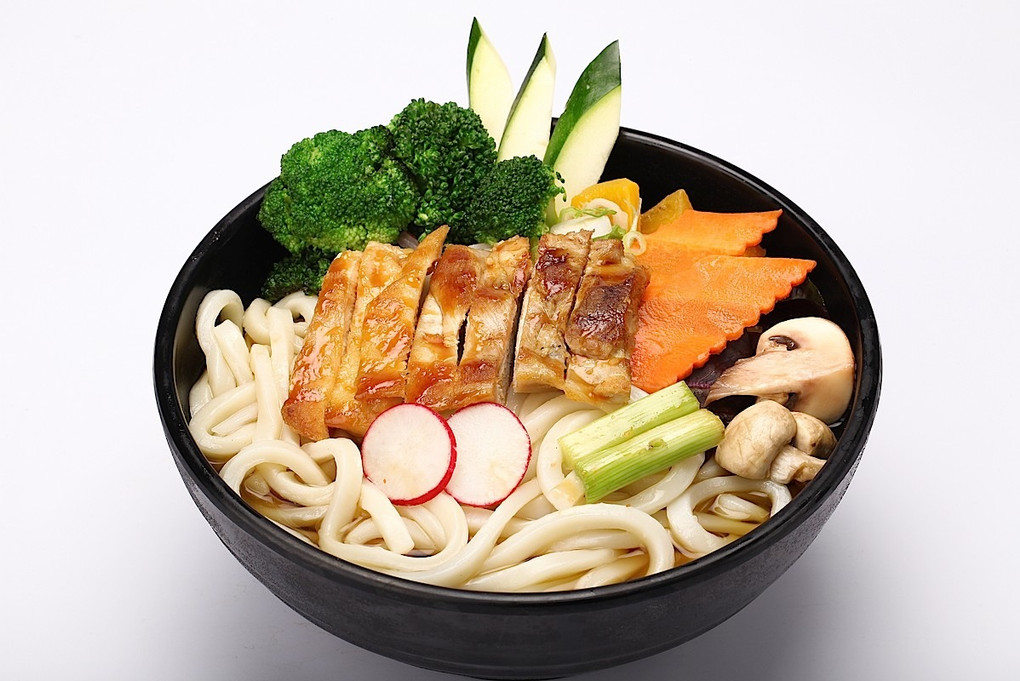 CHICKEN UDON SOUP