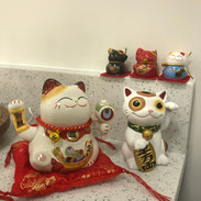 Lucky cats!