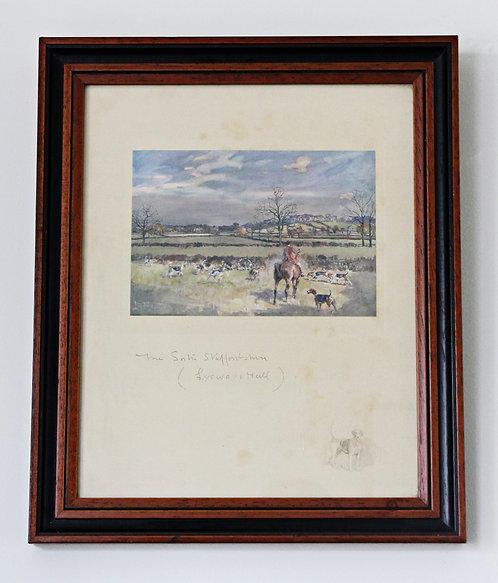 Set of 4 Lionel Edwards Framed Prints