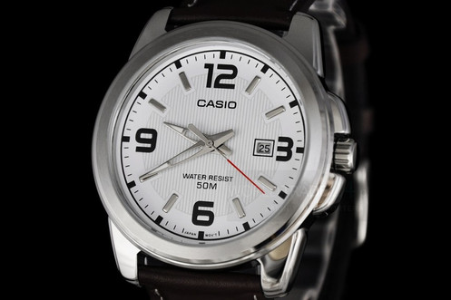 c1f0667f6 ساعة كاسيو للرجال موديل MTP-1314L-7A (كاجوال، بعق