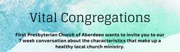 Vital Congregations Week 1