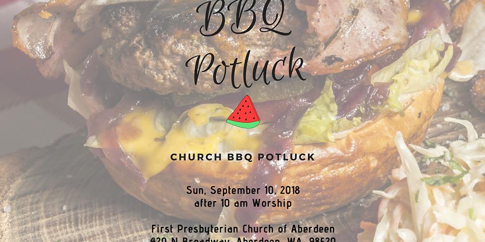 Fall Kickoff BBQ Potluck at First Presbyterian Church of Aberdeen