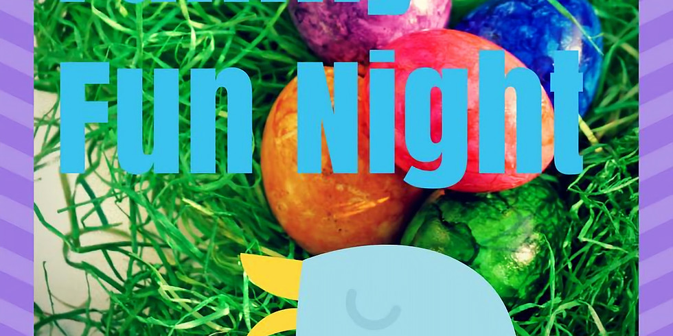 Family Fun Night Easter Egg Decorating Party