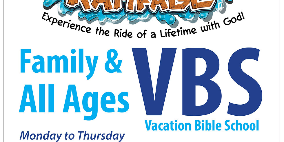 """""""Rolling River Rampage"""" Family & All Ages Vacation Bible School (1)"""