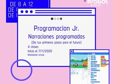 Nuevo curso: Programación Jr.