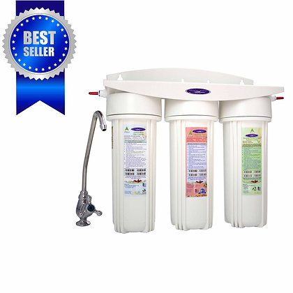 SMART Triple Under Sink Water Filter System