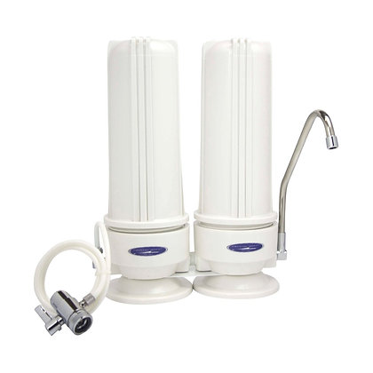 SMART Fluoride Removal Double Countertop Water Filter System
