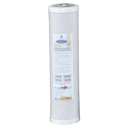 """Coconut Based 5-Micron Carbon Block Filter Cartridge 2-7/8"""" x 9-3/4"""
