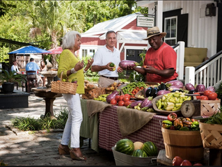 Bluffton Farmer's Market Will Charm You