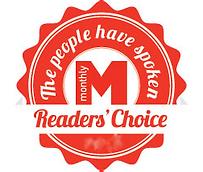 Bluffton Magazine Readers Choice Award Winner