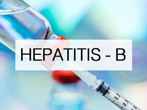 Hepatitis B - Engerix (3 Doses)