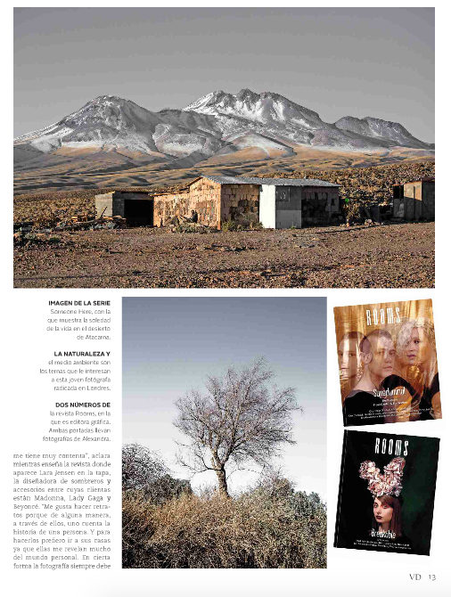 Feature in Newspaper El Mercurio.