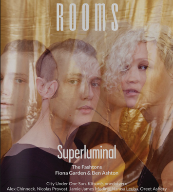 The Fashtons cover, Rooms Magazine.