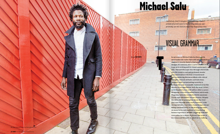 Micheal Salu for Rooms Magazine