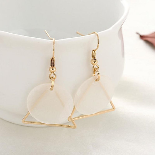 Shell and Shape Dangle Earrings
