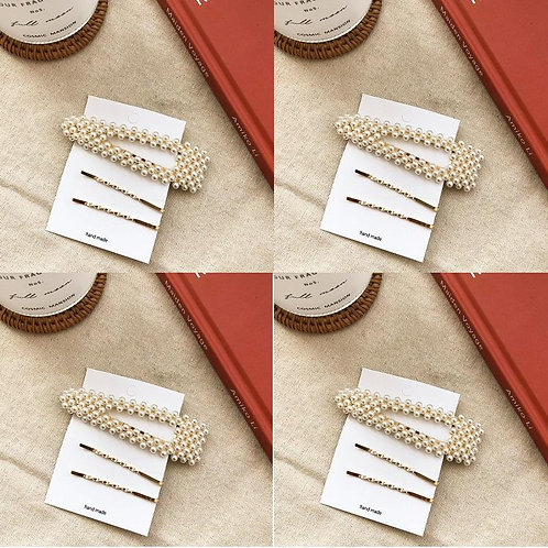 Classic Pearls Hairpin Collection
