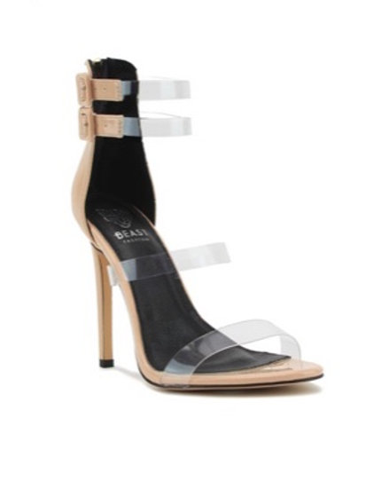 Clear to Nude Heel